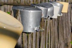 Las cacerolas de la sequedad Fotografía de archivo libre de regalías