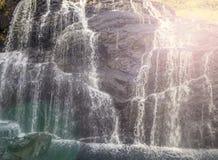 Las caídas del panadero son una cascada famosa en Sri Lanka Foto de archivo libre de regalías