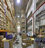 Las cajas del documento de expedientes, almacenan el sistema seguro del almacenamiento Foto de archivo libre de regalías