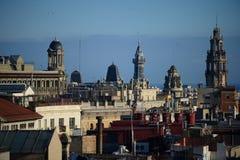 Las calles de Barcelona Fotografía de archivo libre de regalías