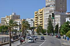 Las calles de Cádiz, España Imagen de archivo libre de regalías