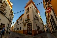 Las calles de Córdoba - España fotografía de archivo