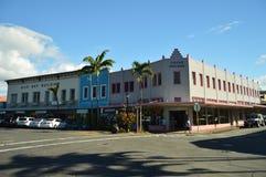 Las calles de Hilo fotografía de archivo