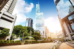 Las calles de Hong Kong Imagen de archivo libre de regalías