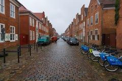 Las calles de la ciudad vieja de Potsdam. Fotografía de archivo libre de regalías