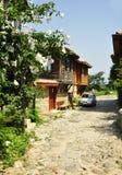 Las calles de Nessebar Fotos de archivo libres de regalías