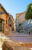 Las calles del pueblo de montaña Imagen de archivo