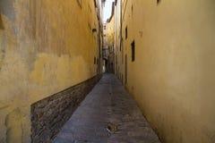 Las calles estrechas Foto de archivo libre de regalías