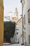 Las calles viejas. Foto de archivo