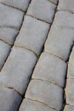 Las camas de la piedra jurásica de los lias en Doniford varan, Exmoor, Reino Unido fotografía de archivo libre de regalías