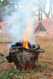 las campingowy fotografia royalty free