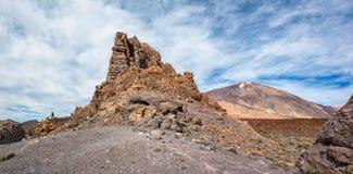 Las Canadas del Teide Στοκ εικόνες με δικαίωμα ελεύθερης χρήσης