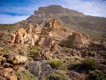 Las Canadas del Teide Royalty Free Stock Photography