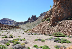 Las Canadas del Teide range Royalty Free Stock Photos