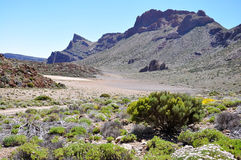 Las Canadas del Teide range Stock Photo