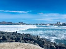 Las Canteras royalty free stock images