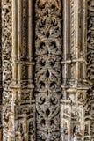 Las capillas inacabadas del monasterio de Batalha Imágenes de archivo libres de regalías
