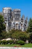 Las capillas inacabadas del monasterio de Batalha Foto de archivo libre de regalías