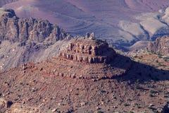 Las características geológicas únicas de Grand Canyon Imagen de archivo libre de regalías