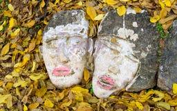Las caras del piso Foto de archivo libre de regalías