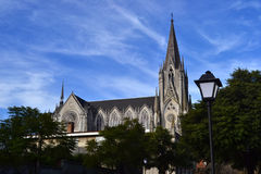 Las Carmelitas - Prado - Montevideo. Gothic church of the Carmelitas, Prado, Montevideo Stock Photography
