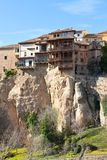 Las Casas Colgadas at Cuenca, Spain Royalty Free Stock Image