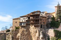 Las Casas Colgadas at Cuenca, Spain Stock Photo