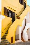 Las casas coloridas de Procida Imagen de archivo