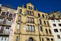 Las casas de San Sebastian Foto de archivo