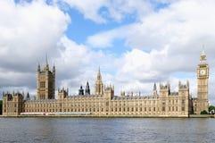 Las casas del parlamento Fotografía de archivo libre de regalías