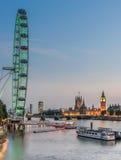 Las casas del parlamento Londres Imágenes de archivo libres de regalías