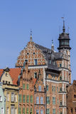 Las casas históricas en la ciudad vieja Imagen de archivo libre de regalías