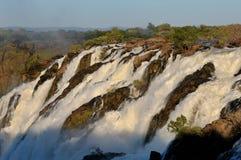 Las cascadas de Ruacana, Namibia Imágenes de archivo libres de regalías