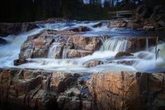 Las cascadas del agua Fotos de archivo