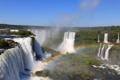 Las cascadas más grandes en la tierra Imágenes de archivo libres de regalías