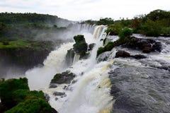 Las cataratas del Iguazú Imagen de archivo