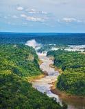 Las cataratas del Iguazú Foto de archivo libre de regalías
