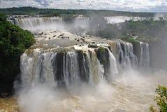 Las cataratas del Iguazú en el Brasil Fotos de archivo