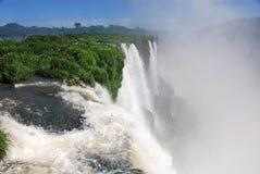Las cataratas del Iguazú en la Argentina Fotografía de archivo