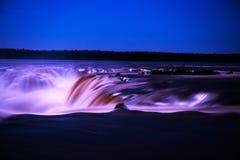 Las cataratas del Iguazú, garganta de los diablos, Garganta del Diablo Foto de archivo