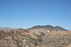 Las cercanías de Sucre Fotografía de archivo