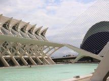 Las Ciencias de Valencia Ciudad de las Artes y Photo libre de droits