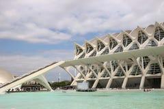 Las Ciencias de Valencia Ciudad de las Artes y Photographie stock libre de droits