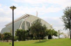 Las Ciencias Valence de Ciudad de las Artes y Photographie stock libre de droits
