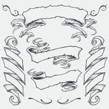 Las cintas fijaron 01 ilustración del vector
