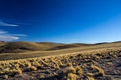 Las colinas alrededor de Humahuaca Fotos de archivo