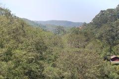 Las colinas ven en Kerala imagen de archivo libre de regalías