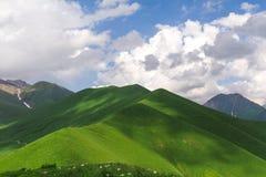 Las colinas verdes Fotografía de archivo libre de regalías