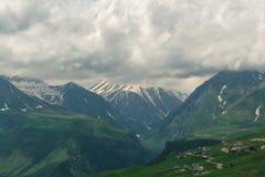 Las colinas verdes Foto de archivo libre de regalías