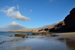 Las Coloradas, остров Фуэртевентуры Стоковое фото RF
